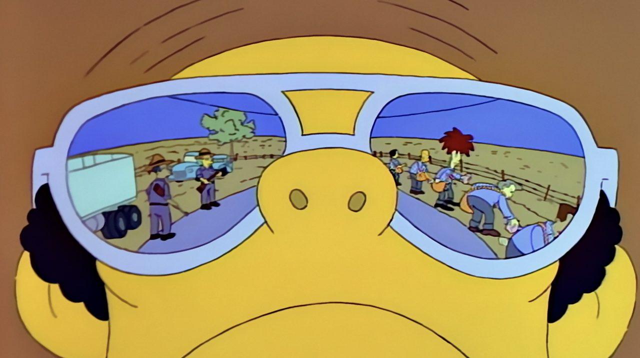 bob simpson occhiali nick mano fredda