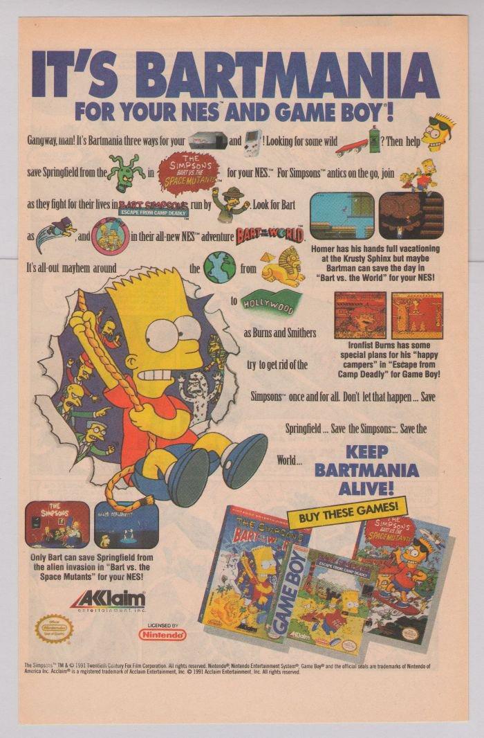 Bart NES
