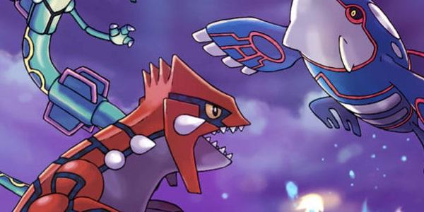 Pokémon Zaffiro Alpha/Rubino Omega banner