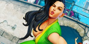 Street Fighter V Laura banner