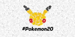 Pokémon ventennale banner