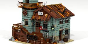 Banner LEGO Ideas Old Fishing Store