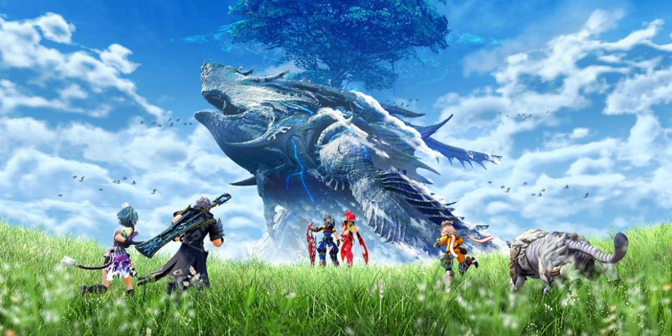 Xenoblade Chronicles 2 megaslide