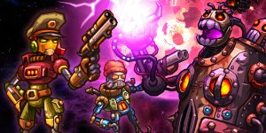 SteamWorld Heist banner