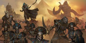 Total War: Warhammer II Rise of the Tomb Kings banner