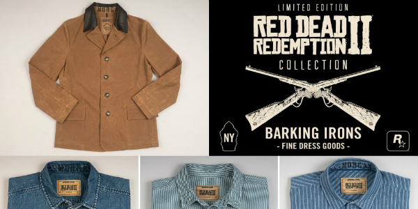 Red Dead Redemption 2 Barking Irons banner