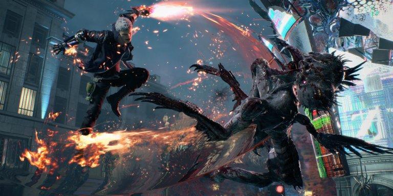 Devil May Cry 5 megaslide
