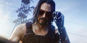 Cyberpunk 2077 Keanu Reeves banner