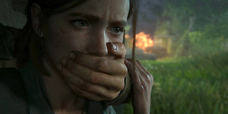 The Last of Us Part II Sony banner