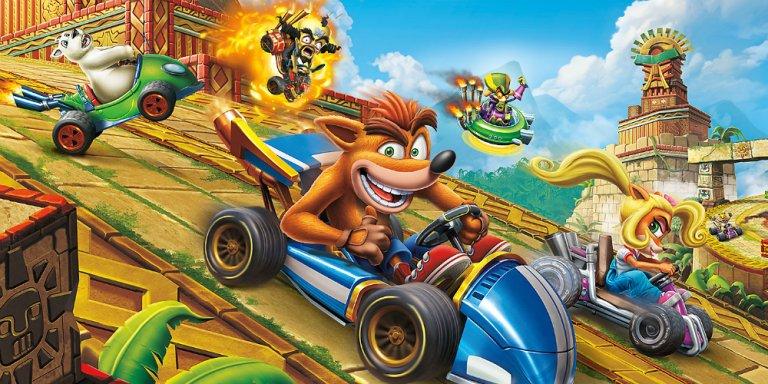 Crash Team Racing Nitro-Fueled banner