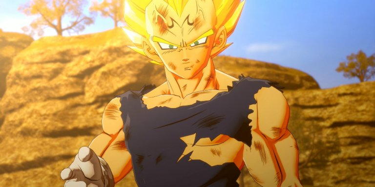 Dragon Ball Z Kakarot Vegeta banner
