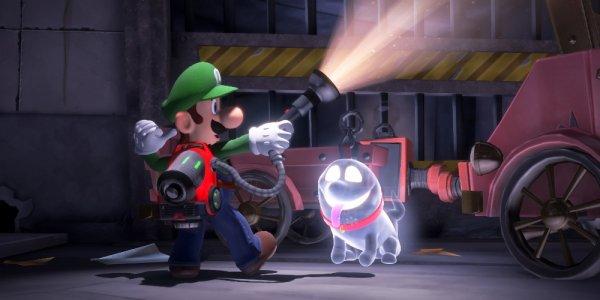 Luigi's Mansion 3 banner