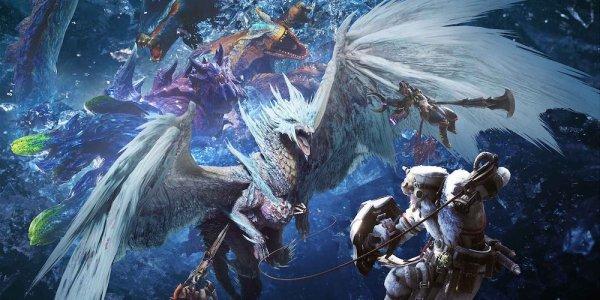 Monster Hunter: World Iceborne banner