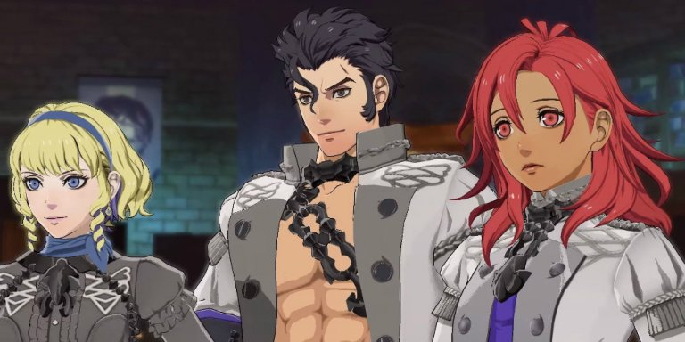 Fire Emblem: Three Houses Ombre cineree banner