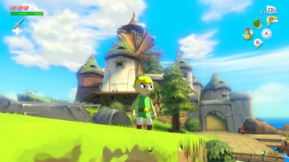 The Legend of Zelda The Wind Waker screenshot