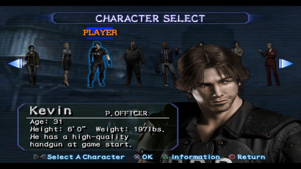 Resident Evil Outbreak screenshot