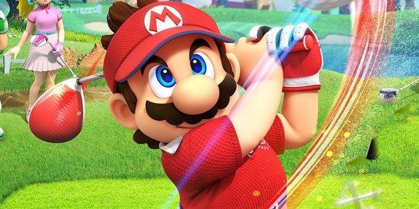 Mario Golf super rush