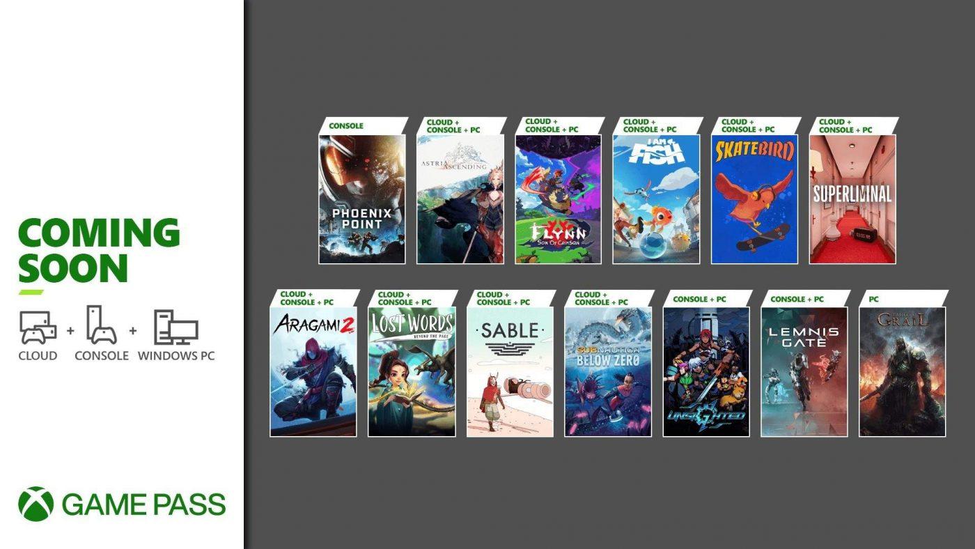 Xbox game pass settembre