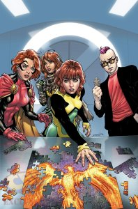 Jean Grey #3, copertina di David Yardin