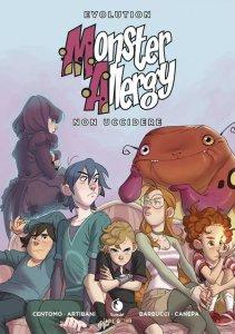 Monster Allergy Evolution vol. 3: Non uccidere, copertina di Carlotta Dicataldo