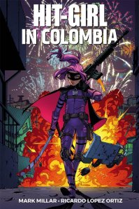 Hit-Girl vol. 1: Colombia, copertina di Amy Reeder