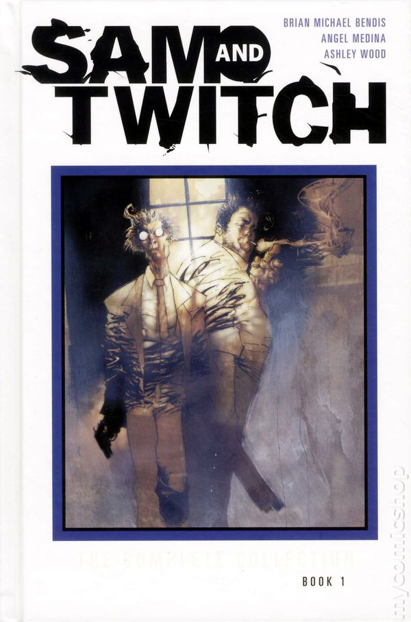 Sam and Twitch - The Complete Edition vol. 1, copertina di Ashley Wood