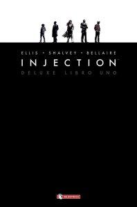 Injection Deluxe - Libro uno, copertina di Declan Shalvey