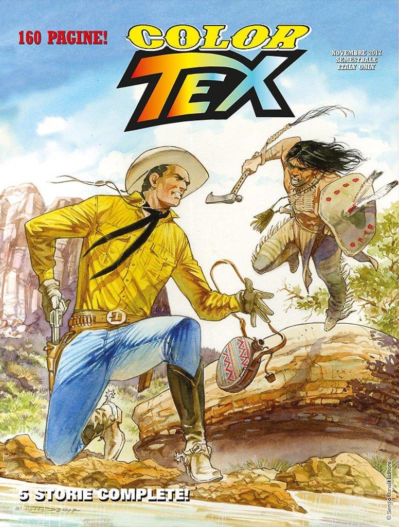 Color Tex 12: Sparate sul pianista e altre storie, copertina di Maurizio Dotti