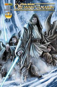 Obi-Wan e Anakin, copertina di Marco Checchetto