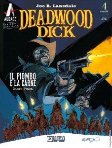 Deadwood Dick 4: Il piombo e la carne, copertina di Corrado Mastantuono
