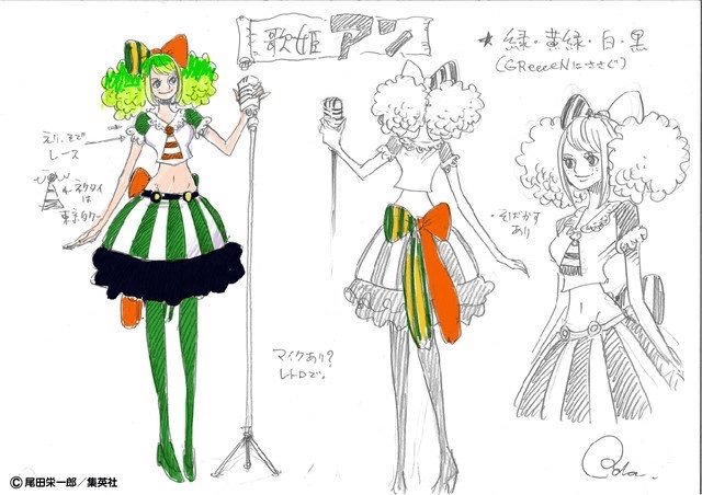 One Piece: Stampede, Ann character design