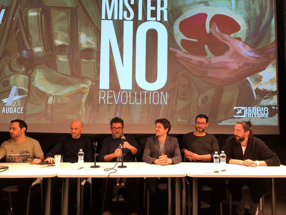 Cartoomics 2019: la conferenza di Mister No