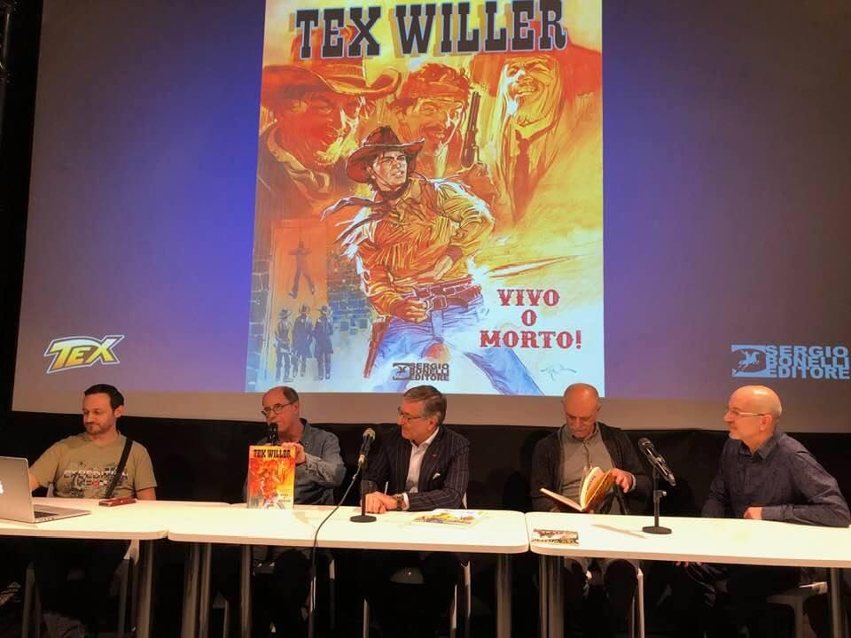 Cartoomics 2019: la conferenza di Tex
