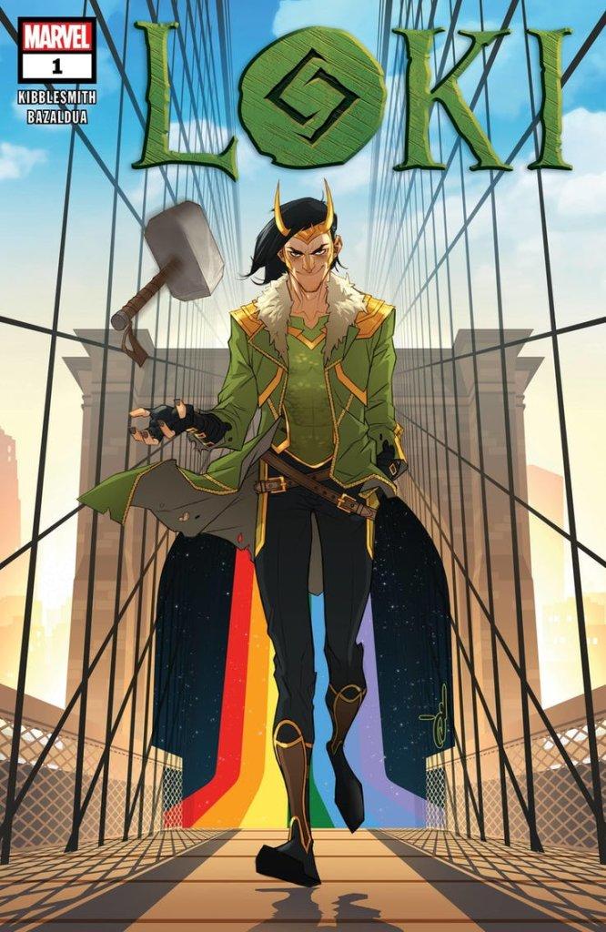 Loki #1, copertina di Ozgur Yildirim
