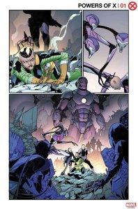 Powers of X #1, anteprima 02