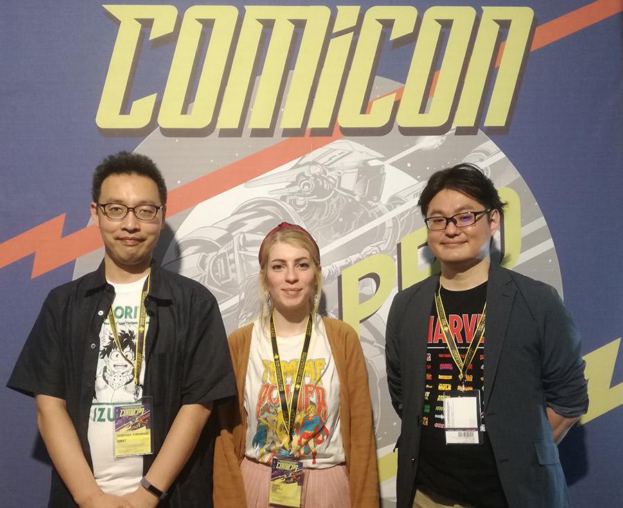 Hideyuki Furuhashi e Betten Court, Comicon 2019