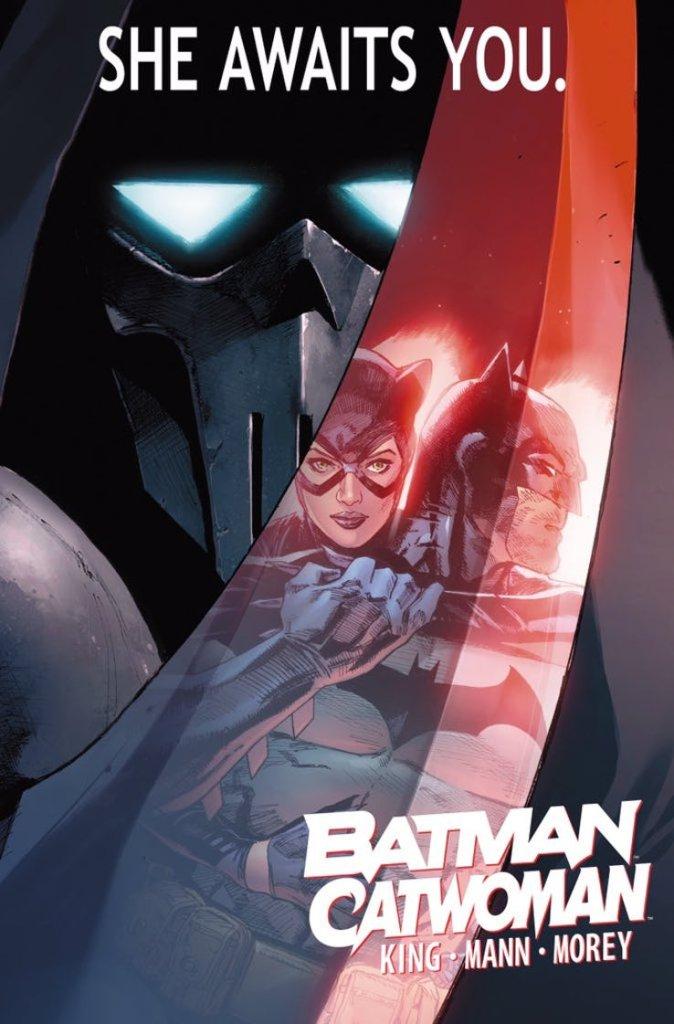 Batman/Catwoman, immagine promozionale di Clay Mann