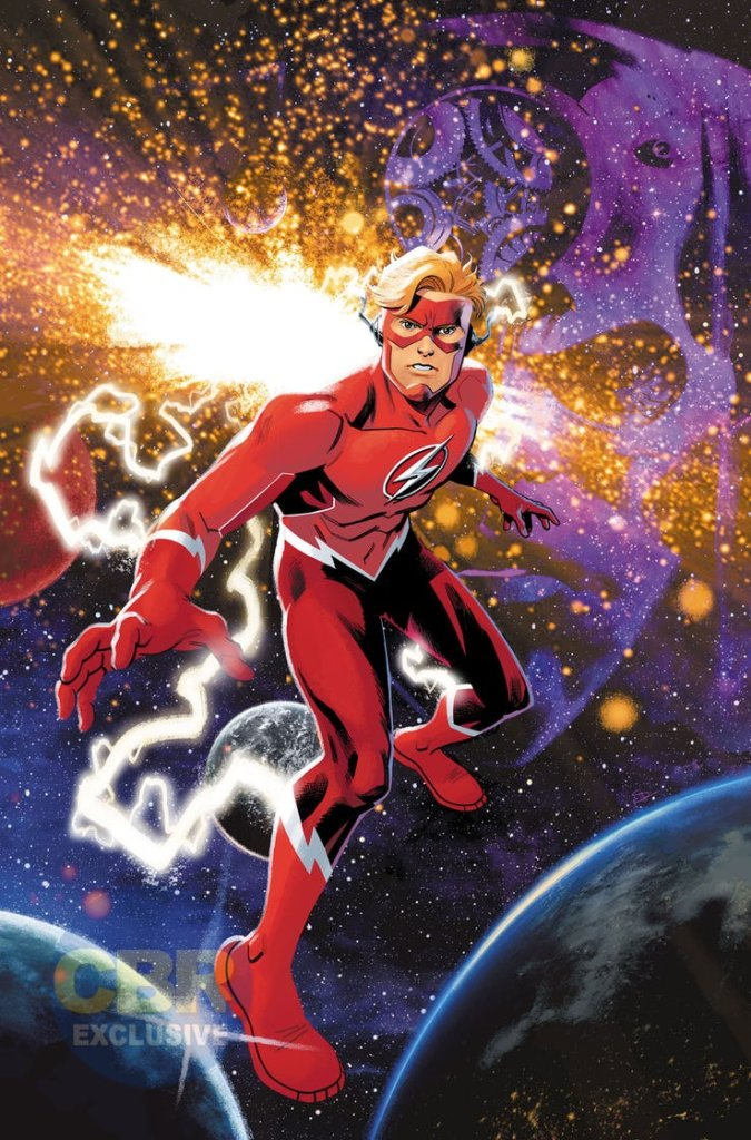 "Flash Forward #1, copertina di Evan ""Doc"" Shaner's"