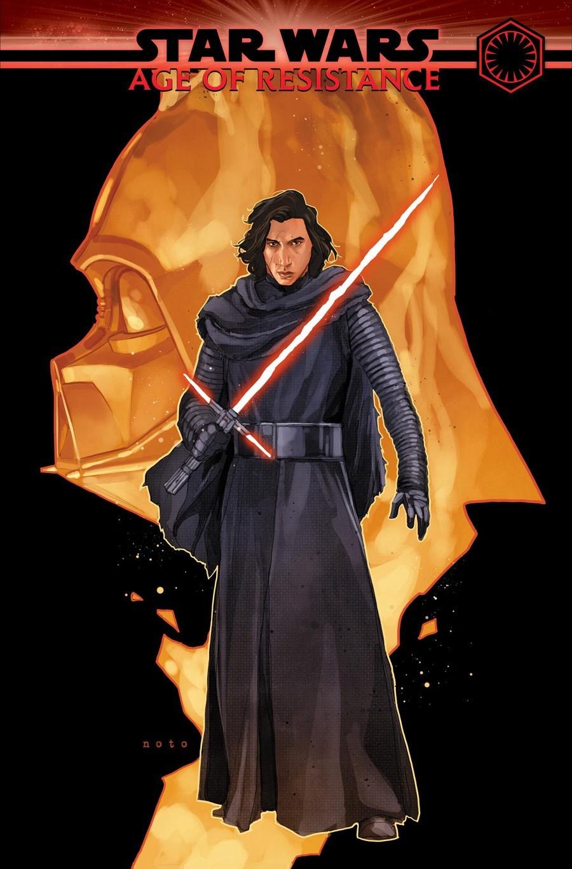 Star Wars - Age of Resistance: Kylo Ren #1, copertina di Phil Noto