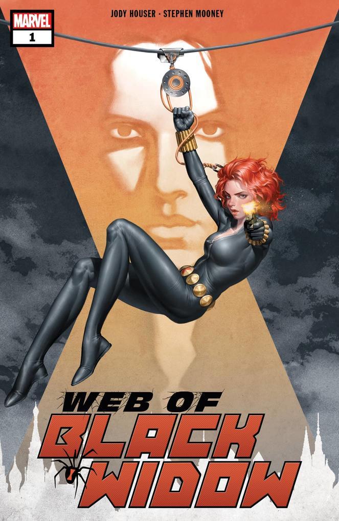 Web of Black Widow #1, copertina di Junggeun Yoon