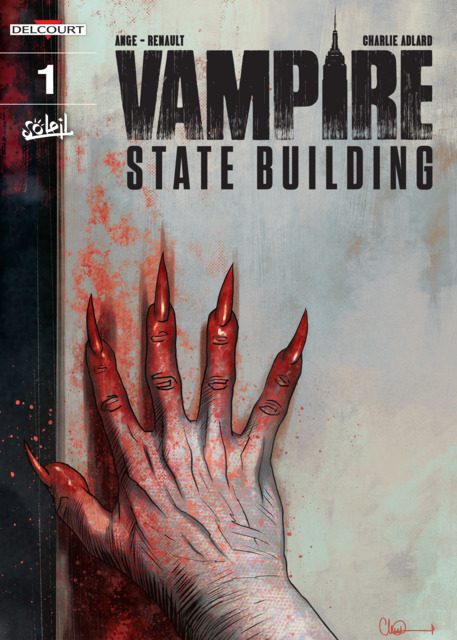 Vampire State Building vol.1, copertina di Charlie Adlard