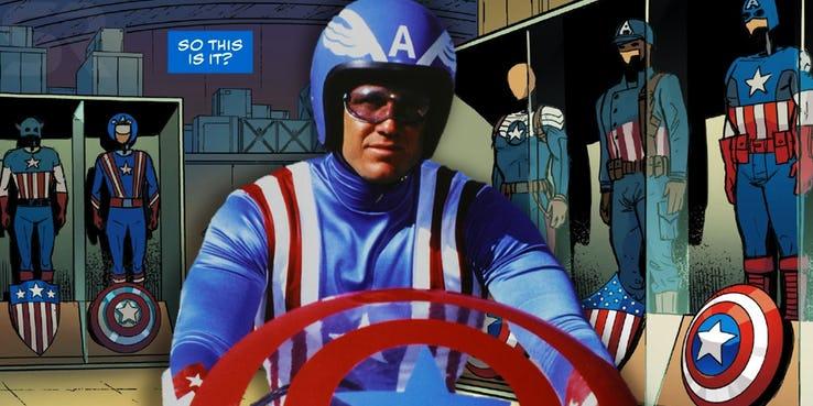 Captain America: il costume del film del 1979
