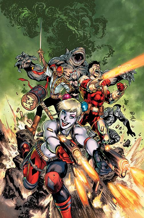 Suicide Squad #1, copertina di Ivan Reis