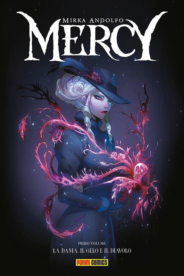 Mercy vol. 1: La dama, il gelo e il diavolo, copertina di Mirka Andolfo