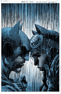 Batman #50, variant cover di Jim Lee