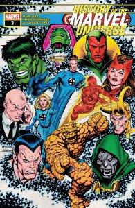 History of the Marvel Universe #3, copertina di Steve McNiven