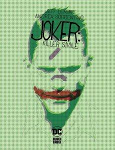Joker: Killer Smile #1, copertina di Andrea Sorrentino