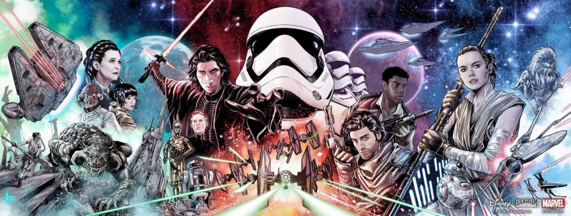 Star Wars: The Rise of Skywalker - Allegiance #1/4, variant cover di Marco Checchetto