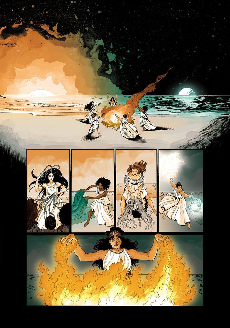 Wonder Woman: Tempest Tossed, anteprima 01