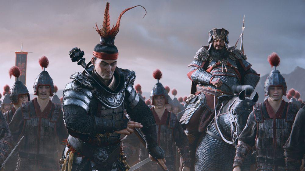 Total War: Three Kingdoms banner scheda